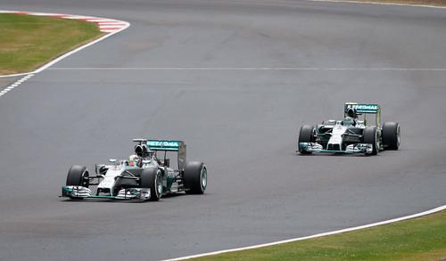F1 - Mercedes - Lewis Hamilton