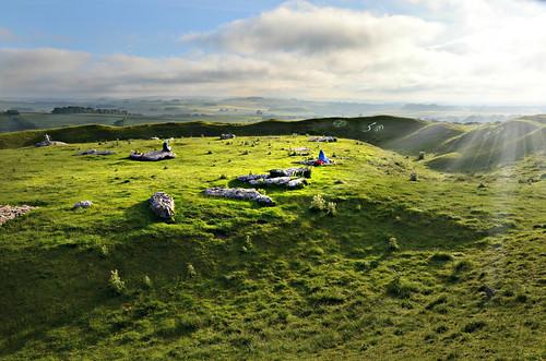 rock stone peakdistrict ring stonehenge limestone slab neolithic summersolstice arborlow