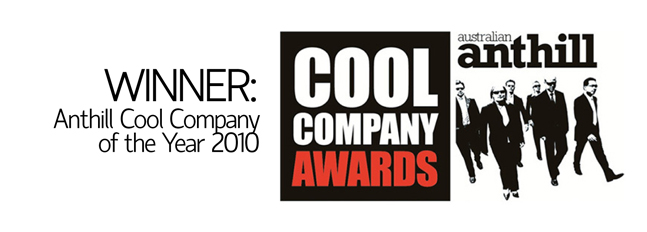 Flipsters Anthill Cool company of the year Award