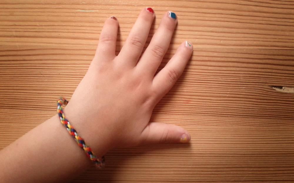 Armband flechten Freundschaftsbänder Freundschaftsbändchen Freundschaftsband