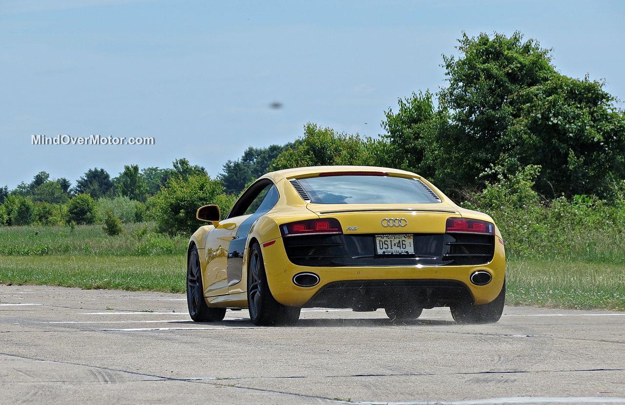 Audi R8 V10 at CF Charities