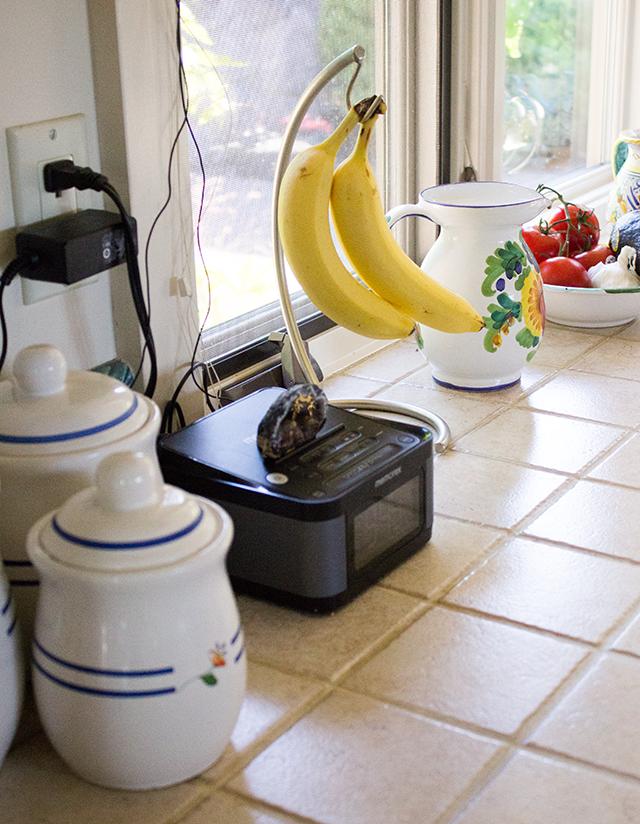 breakfast, kitchen, bananas