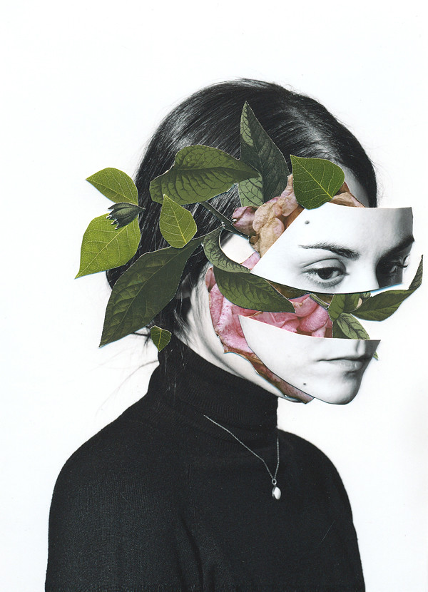 Autorretrato / Handmade collage