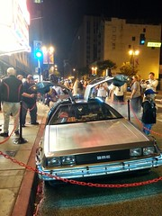 Back to the Future at the UA Theater