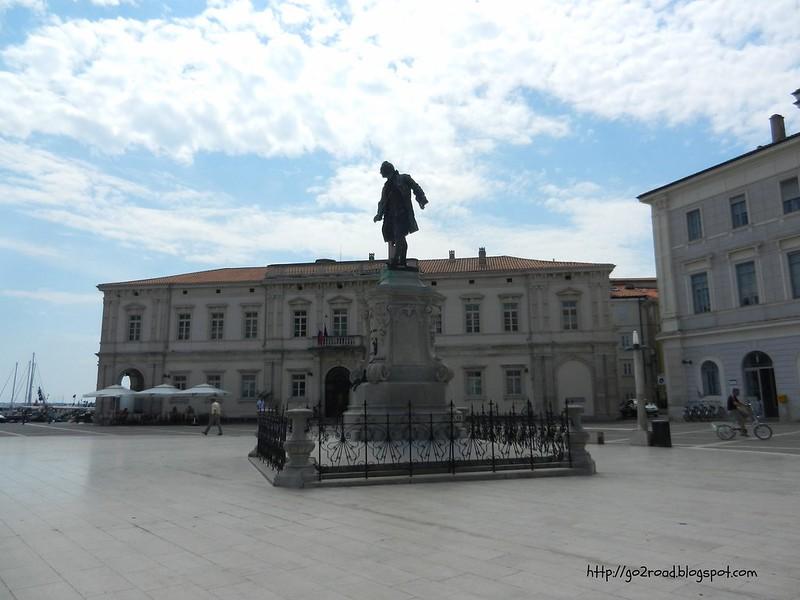 Пиран, площадь Тартини