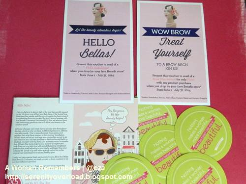 Belle-de-Jour_Benefit-vouchers,BDJ box, Benefit cosmetics,Belle de Jour, June 2014