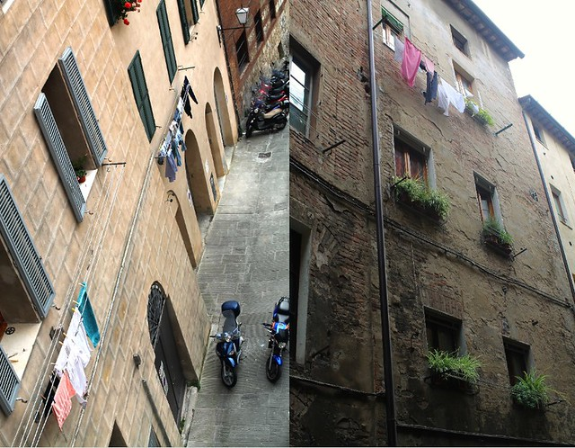 Laundry Day in Siena, Tuscany