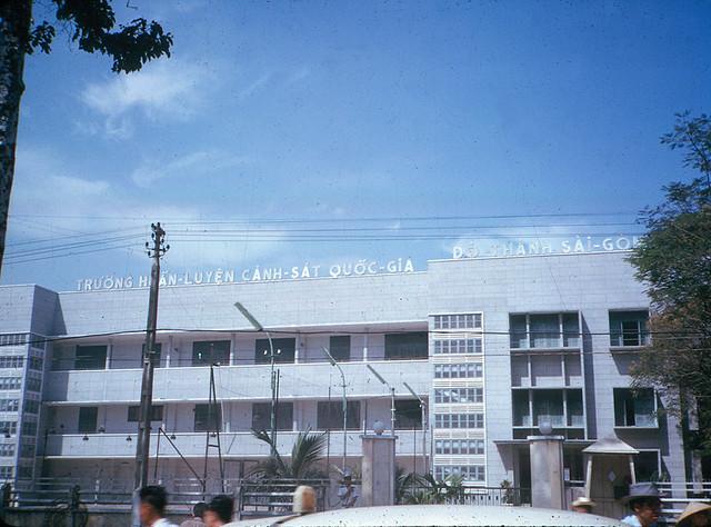 SAIGON 1965 - Trường Huấn Luyện Cảnh Sát Quốc Gia - Đô Thành Saigon