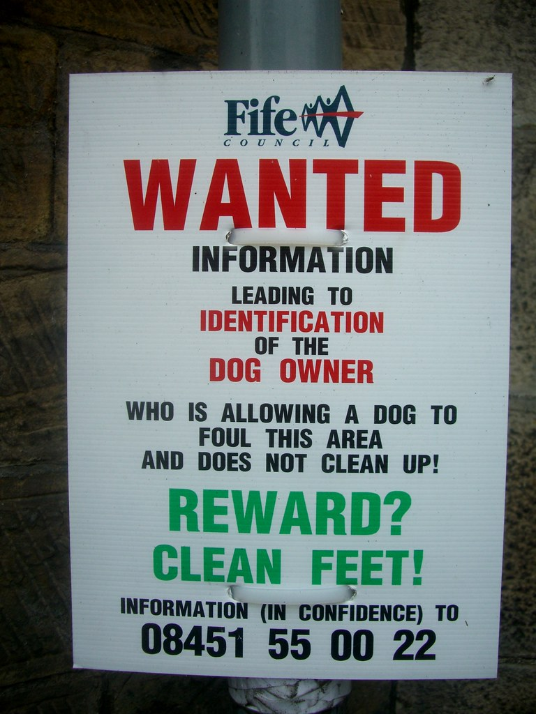 Falkland Dog sign