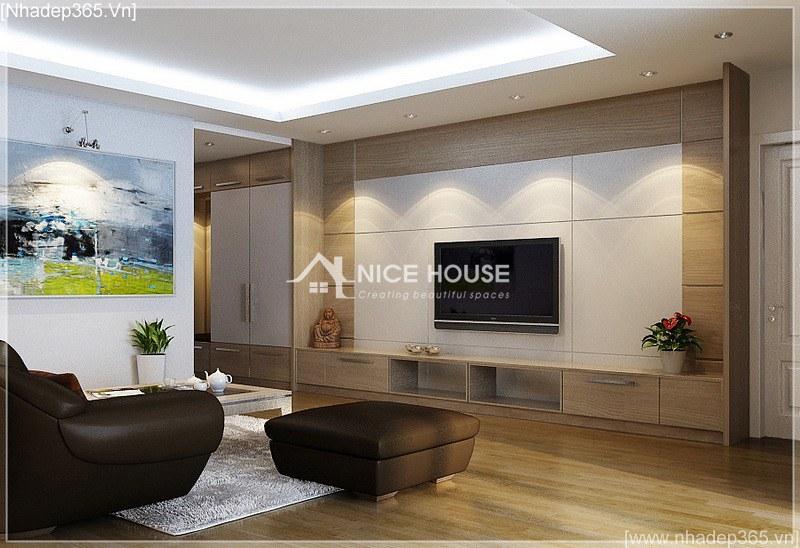 Thiết kế nội thất căn hộ nhà cô Hằng - HN_07