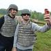 Graham Rahal and Dale Earnhardt Jr. visit Indiana National Guard