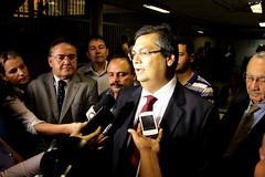 Flavio Dino apresenta plano de governo