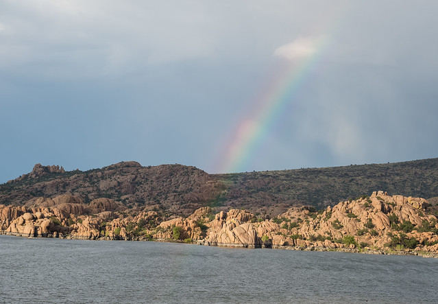 Rainbow Over Watson Lake