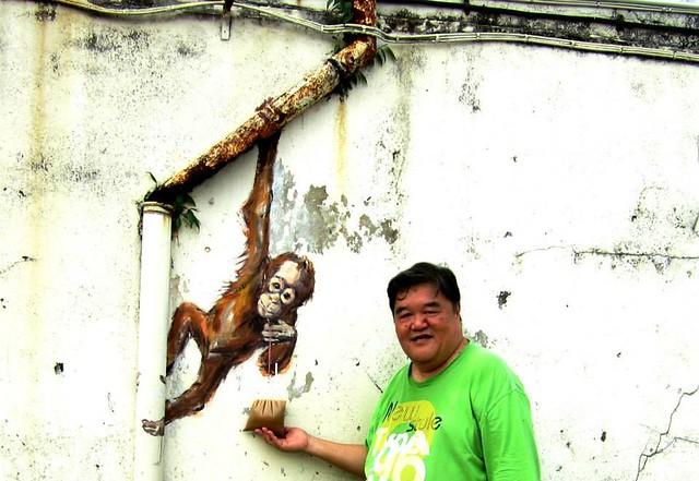 Kuching mural 3