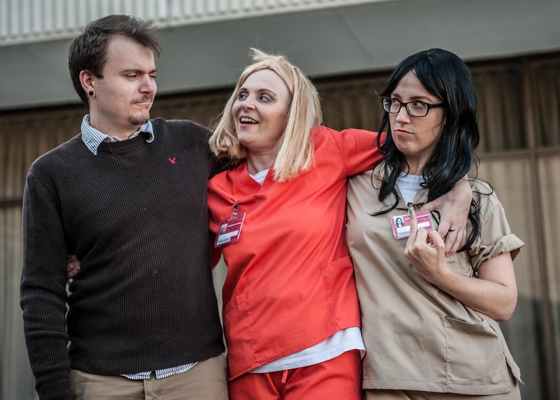 Skepchicks as OITNB