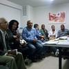 Reunião da Ocupação Fazenda Colubandê - Quem Ama Cuida, realizada na Acesg - SG. Mestres Paulão e Pulga,  Professora Celi Santana e a Jornalista Cecília estiveram presentes.
