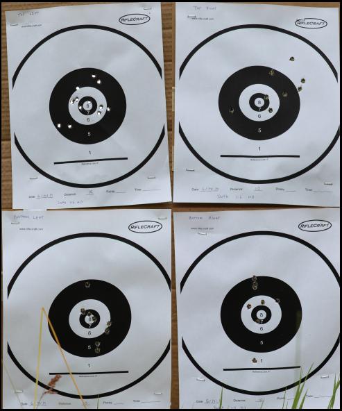 Test 2 Targets