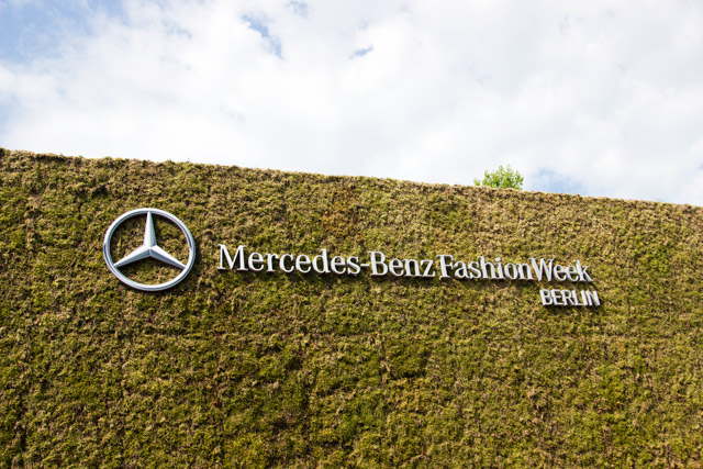 Visiting Mercedes Benz Berlin Fashion Week