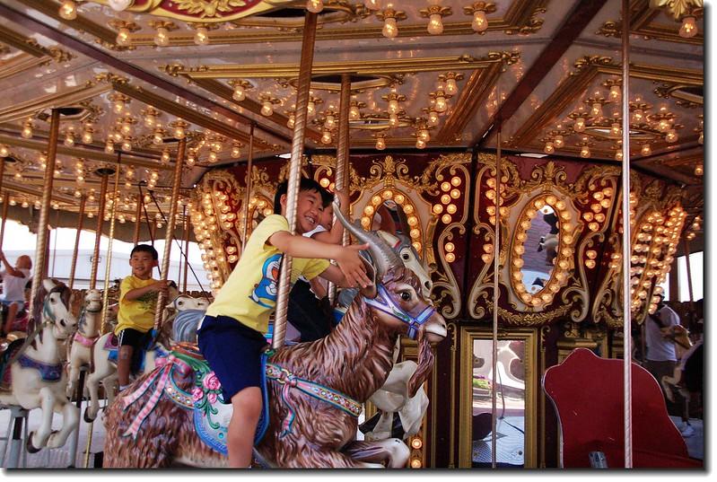 Antique Replica Carousel