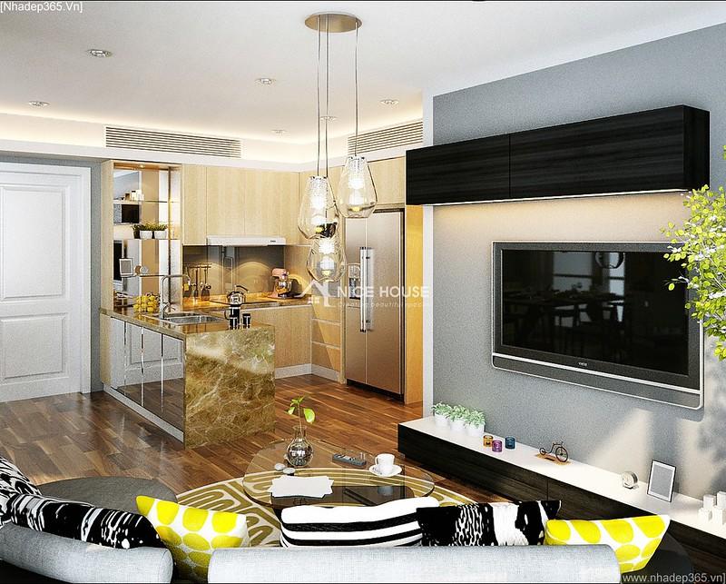 Thiết kế nội thất căn hộ Euro MultiComplex Arpatment_3