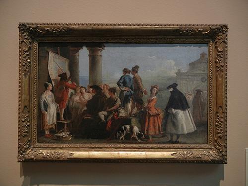 DSCN1221 _ The Storyteller, mid 1770s, Giovanni Domenico Tiepolo, Blanton Museum, Austin
