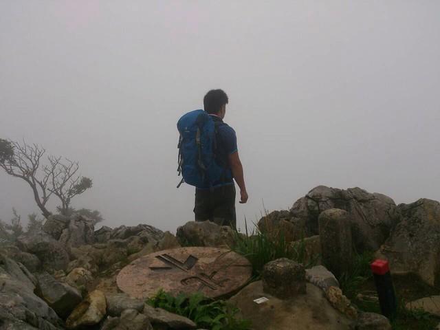 藤原岳 展望台からの眺望