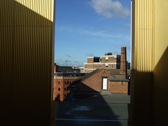 Terrace room - views across Leicester city