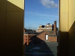 Terrace room - views across Leicester city