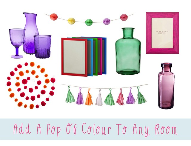 add a pop of colour to any room