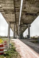 Zilwaukee Bridge from Below HDR