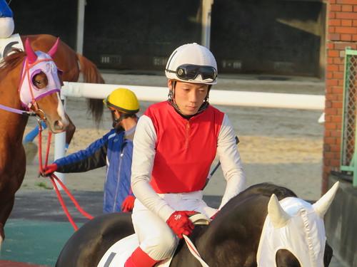 佐賀競馬場の川島拓騎手