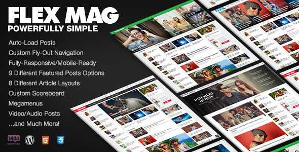 Flex Mag WordPress Theme free download
