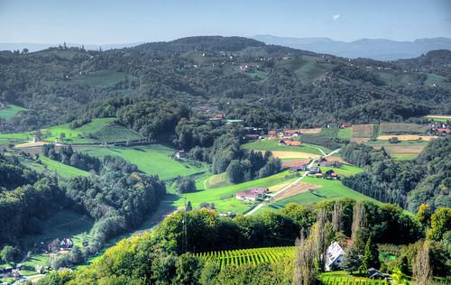leibnitzarea austria hillsmountains panorama