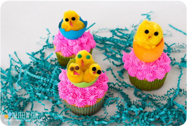 EasterCupcakes-Chicks2-ImFeelinCrafty