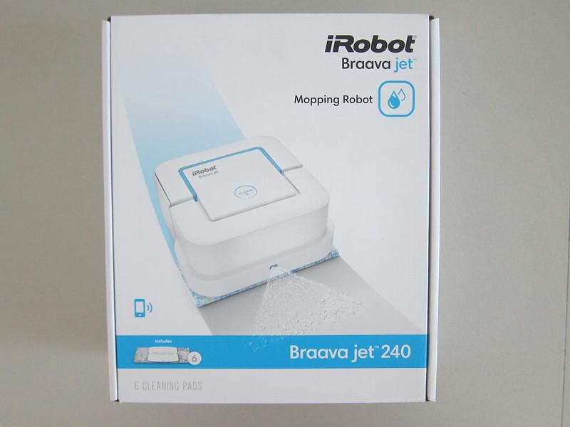 iRobot Braava Jet 240 - Box Front