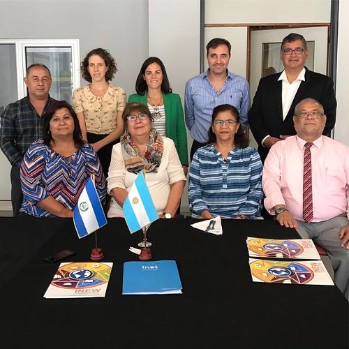 Visita a Argentina de autoridades del Gobierno de El Salvador