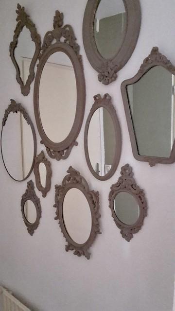 Spiegels muur