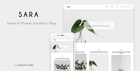 Sara WordPress Theme free download
