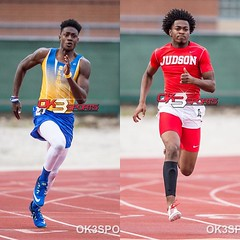 The District 27-6A 200m gone be 🔥 🔥 🔥 today. Come check out to of the best!!!#ok3sports