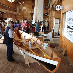 Chase Small Craft will be at the 41st Annual Wooden Boat Festival this year for the second year. We'll show an example from the Drake Series Rowboats and be there to answer your questions. #woodenboatfestival #DrakeRowboat