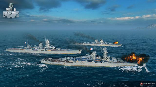WoWS_French_Cruisers_Screens_Trio2-Charles-Martel_Henri-IV_Saint-Louis
