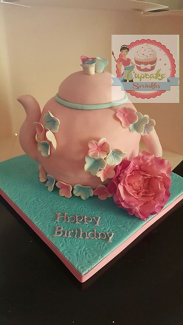 Top 20 Pretty Tea Cups and Pots Cakes Page 30 of 34