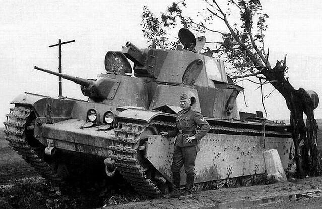 Abandoned T-35