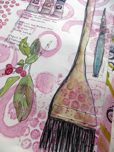 pink watermarked