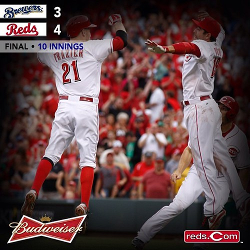 Reds win! May 4th, 2014