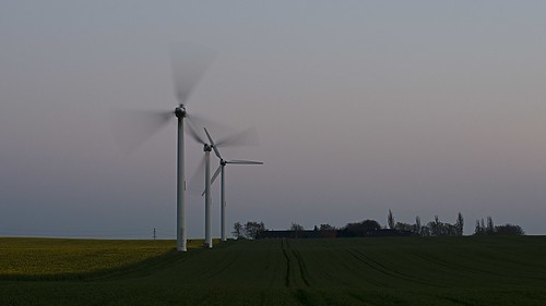 Wnd turbines tonight