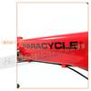 245-000-B-P-007 PARACYCLE 小傘兵前避震折疊單車20吋24速前碟亮紅色-10