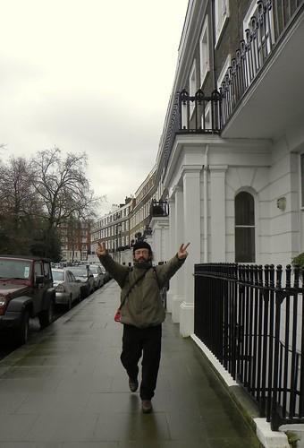 Peronchman in londón. (¡esto es arte urbano!)