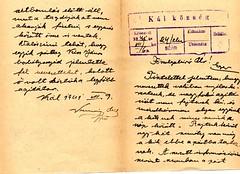 II/7. Dr. Szabó Gyula Egri járási főszolgabíró 1941. július 4-én kelt levelében jelentést kér a Kál községben állítólag megindult erős nyilaskeresztes agitációról.
