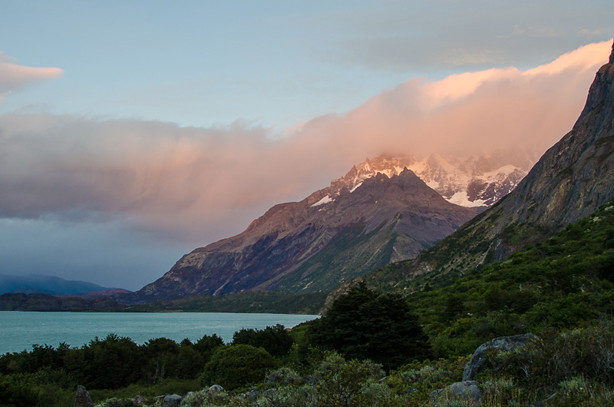 Sunset in Torres del Paine, Chile. 5 Romantic Places to Experience Nature